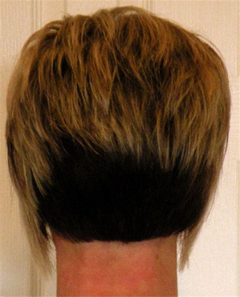 a line haircuts front and back views womens short haircuts front and back views