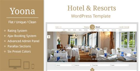 best hotel wordpress themes 2015 psdreview