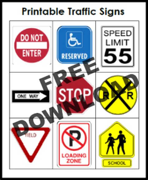 printable nc dmv road signs the gallery for gt block center sign