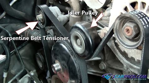how to change serpentine belt tensioner pulley on a 2009 nissan gt r car repair world how serpentine belt tensioner works