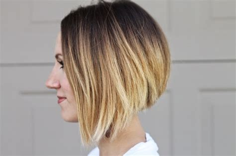 bob hairstyle with ambry asymmetrical ombre bob hair update medium hair styles
