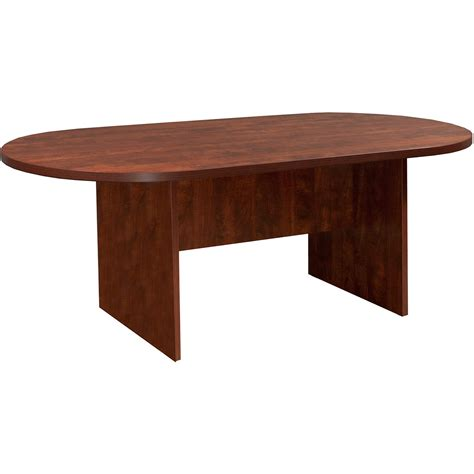 8 foot desk everyday 8 foot laminate racetrack conference table cherry national office interiors and