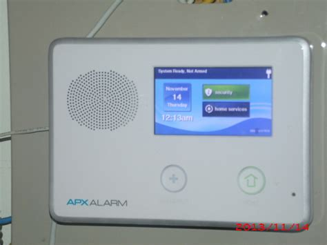 wireles portable adt style touch screen alarm panel ready