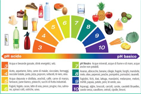 ph alimenti il ph acido o alcalino che cos 232 e come si regola
