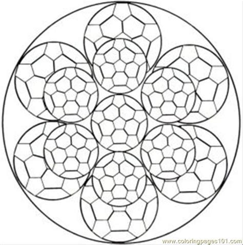 Free Coloring Pages Of Kaleidoscope