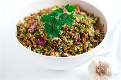 Chopped Detox Salad by Chopped Detox Salad Recipe Yuri Elkaim