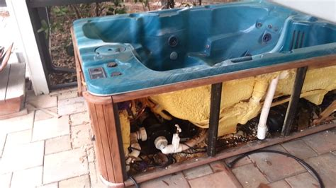 what to do with an old bathtub quot what do you do with an old hot tub quot youtube