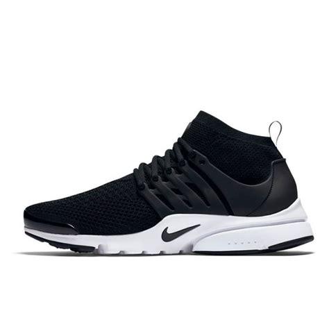 Sepatu Sport Nike Air Presto Ultra Flyknit Black White jual sepatu sneakers nike air presto ultra flyknit black
