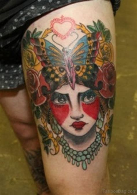 geisha tattoo thigh 42 impressive geisha tattoos for thigh