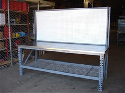 Pallet Rack Workbench by Work Benches American Storage And Logistics Inc