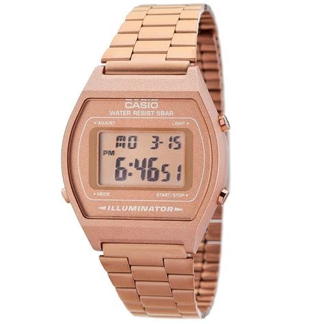 orologio casio uomo donna vintage bronzo b640wc 5a