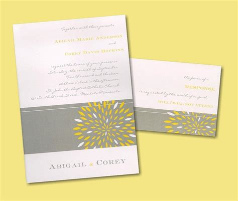 wedding invitation yellow motif maryhelen s our wedding chair covers are made form