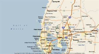 map of port richey