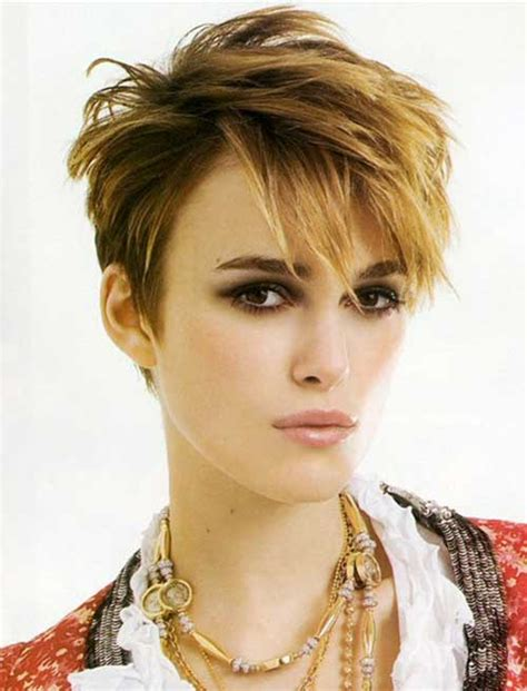 Keira Knightley Hairstyles by 15 Keira Knightley Pixie Haircuts Crazyforus