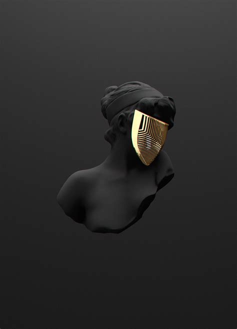 all black all black but gold on behance