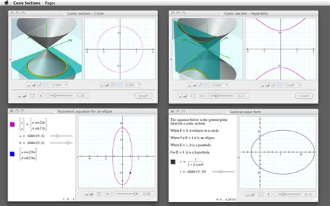 conic sections calculator conic sections