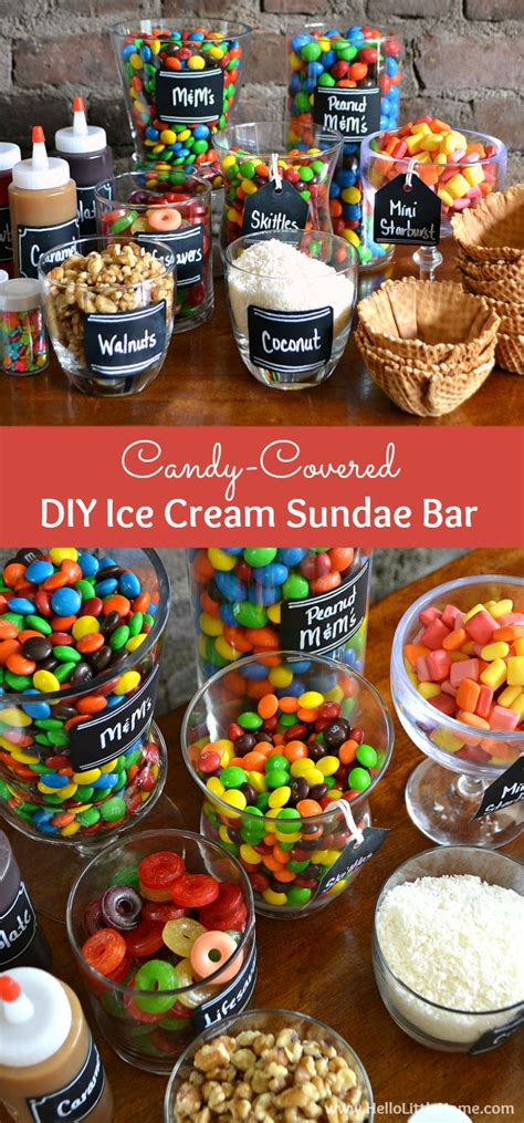 toppings for ice cream sundae bar 10 summertime birthday party ideas for kids