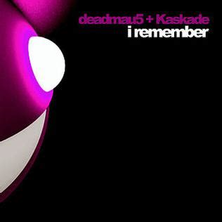 deadmau5 and kaskade i remember deadmau5 and kaskade song wikipedia