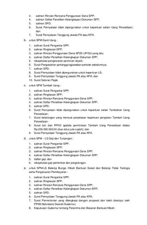 format surat pernyataan tanggungjawab pengguna anggaran pergub 49 th 2012 ttg sistem prosedur pengelolaan