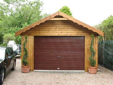 Wooden Garage by The Advantages Of Wooden Garages Why Choose Wood As