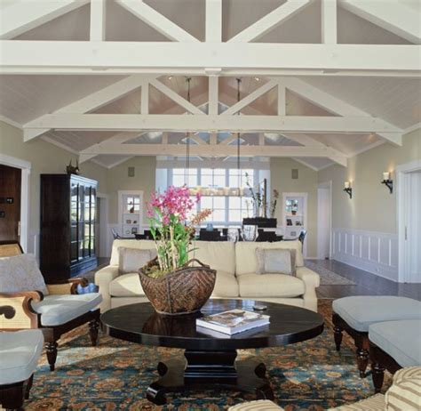 White Ceiling Beams Decorative by Living Rooms With Beams That Will Inspire