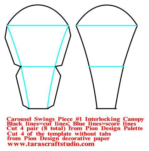 Carousel Swings 187 Pion Design S Blog Coaster Design Template