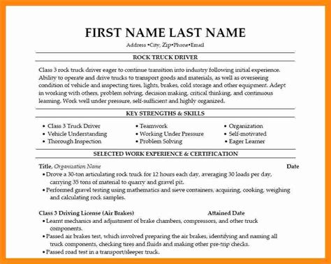 10 truck driver resume objective graphic resume