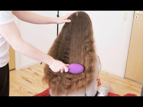 long hared crossdresser brushing asmr brushing long hair long hair growth tips