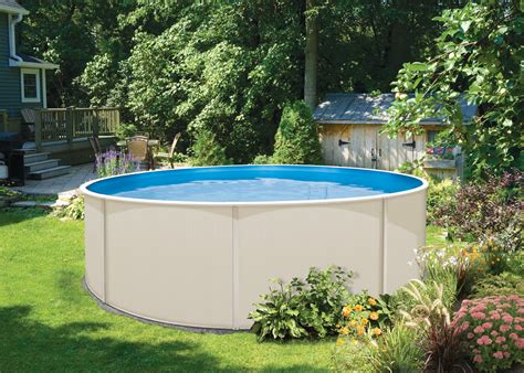 Above Ground Backyard Pools Blue Lagoon Above Ground Swimming Pool Kits