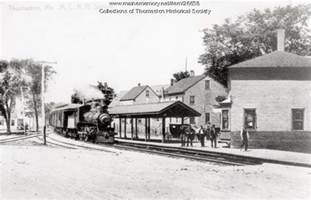 home depot portland maine maine memory network railroad depot thomaston ca 1900