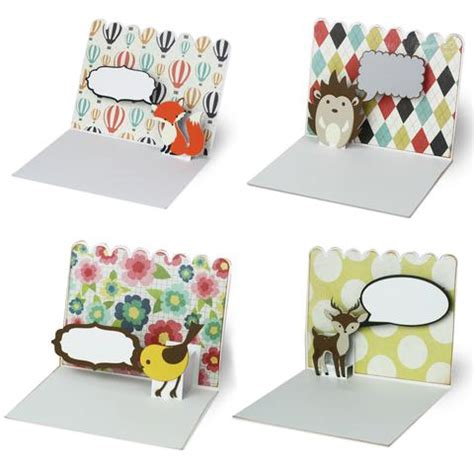 printable animal pop up cards animal pop up cards svgs for silhouette minilou