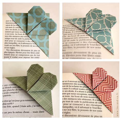 Origami Page - les 25 meilleures id 233 es de la cat 233 gorie marque page
