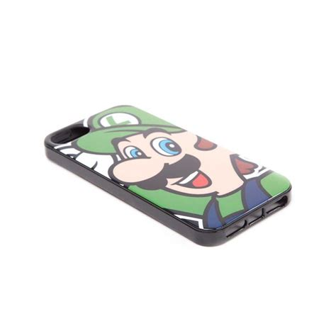 Luigi Y2834 Iphone 5 5s nintendo luigi phone cover for iphone 5 5s for only 163