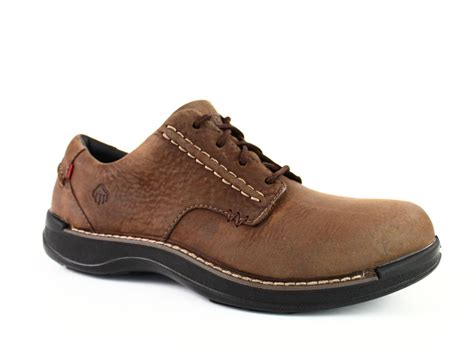 Comfortable Lightweight Work Boots by Wolverine Hickory Oxford Mens Casual Work Comfort