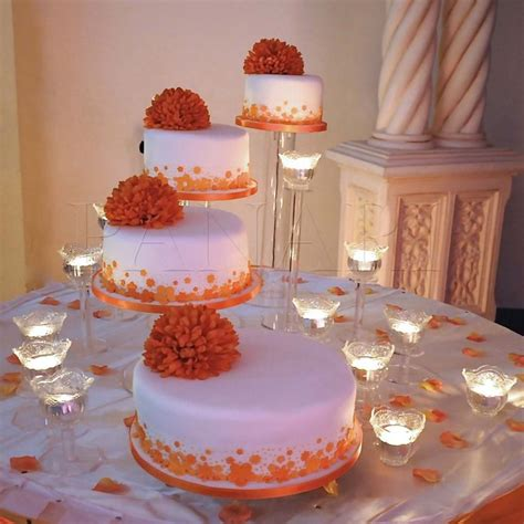 17 best ideas about orange wedding cakes on wedding cakes with flowers fall wedding