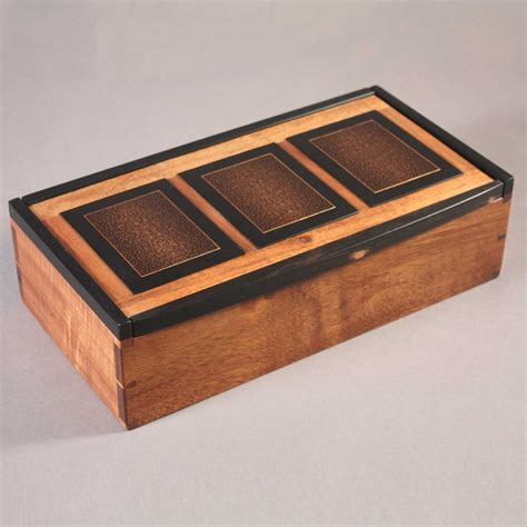 Handcrafted Boxes - handmade wood jewelry box plans