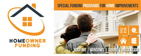 funding programs for homeowners for home improvements