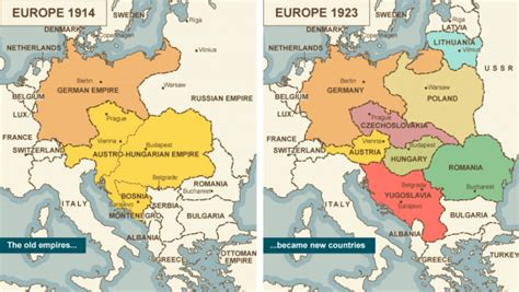 in 1923 the ottoman reorganized as what country map comparison of europe 1914 vs 1923 the fellowship of