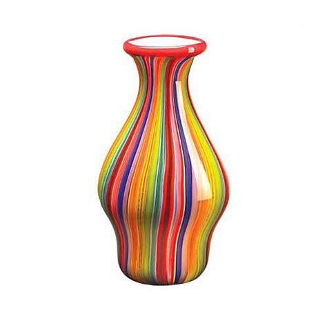 colored vases 187 multi colored glass vases 5 at in seven colors