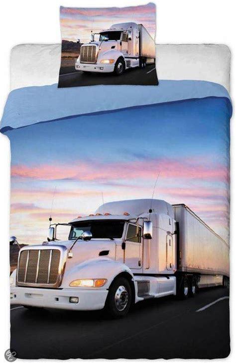 dekbed 140 x 200 2 persoons bol vrachtwagen dekbedovertrek truck 140 x 200 cm