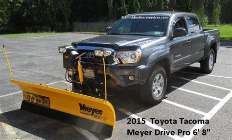 Snow Plow For Toyota Tacoma 2015 Toyota Tacoma Meyer Drive Pro 6 8 Quot Toyota Tacoma