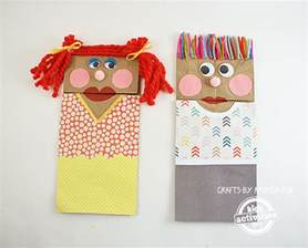free coloring pages of paper bag cat puppet
