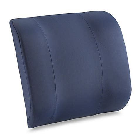 bed bath and beyond tempurpedic pillow tempur pedic 174 lumbar support cushion for home and office