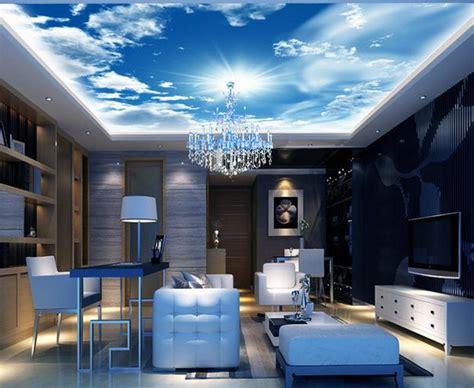 goldilocks and the sky blue ceiling mirror mirror 21 inspiring custom photo ceilings by ceiltrim inc