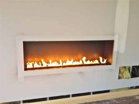 Ribbon Fireplace Insert Fiamma Linea 60 18 Linear Ribbon Fireplace Wilton Residence