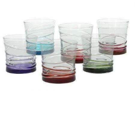 bicchieri tognana tognana porcellane spa set 6 bicchieri tahiti