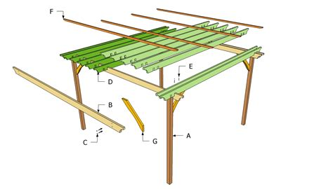 how to build a pergola pdf plans easy woodwork simple pergola construction pdf plans