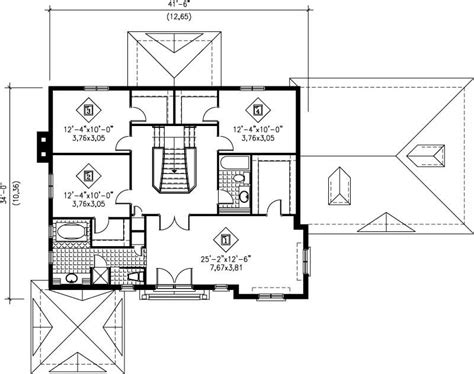 multi level house plans home design pi 20811 12252