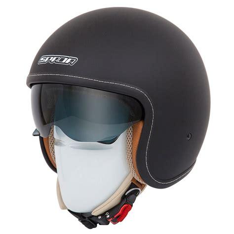 open face motocross helmet spada raze open face internal sun visor summer cruiser
