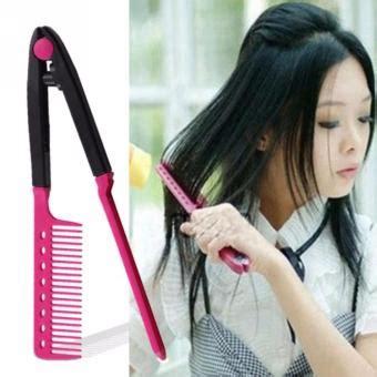 Sisir Catok Catokan Rambut Hqt 906 yuhoo sisir ion pelurus rambut alami tanpa listrik
